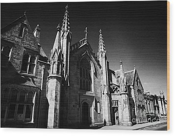 St Marys Roman Catholic Church Inverness Highland Scotland Uk Wood Print by Joe Fox