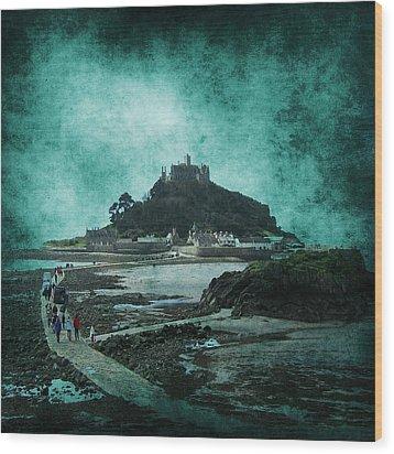 St Michaels Mount Wood Print by Svetlana Sewell