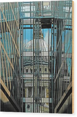 St Pauls Compressed Wood Print