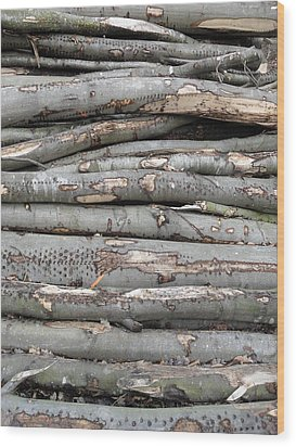 Stack Wood Print