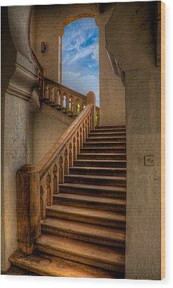 Stairway To Heaven Wood Print by Adrian Evans