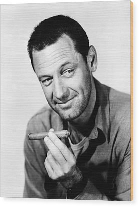 Stalag 17, William Holden, 1953 Wood Print by Everett