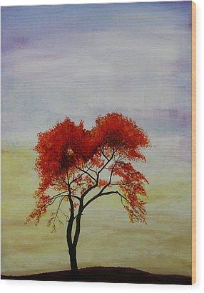 Stand Alone Wood Print by Salwa  Najm