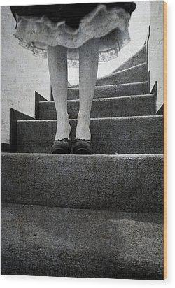 Standing Wood Print by Laura Melis
