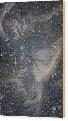 Star Cluster Ngc 602 Wood Print by Thomas Maynard