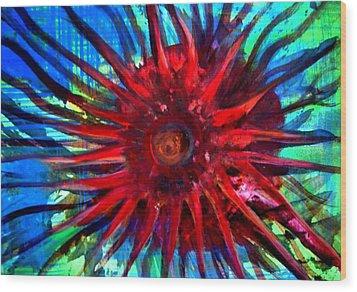 Starfish 02 Wood Print by Aquira Kusume