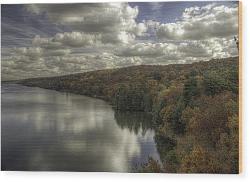 Starved Rock Fall Colors Wood Print