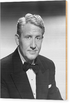 State Of The Union, Spencer Tracy, 1948 Wood Print by Everett