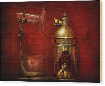 Steampunk - The Torch Wood Print by Mike Savad