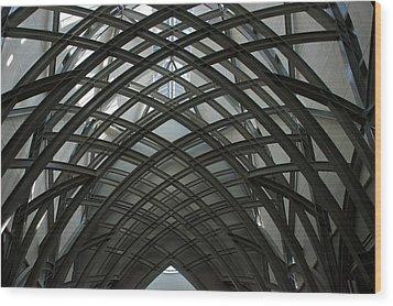 Steel Wood Print by Joseph Yarbrough