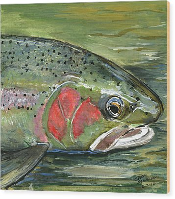Steelhead  Wood Print