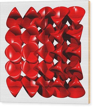Steiner Surfaces Wood Print by Miroslav Skaloud