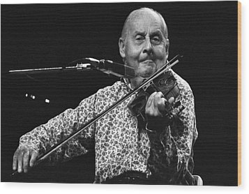 Stephane Grappelli 1 Wood Print
