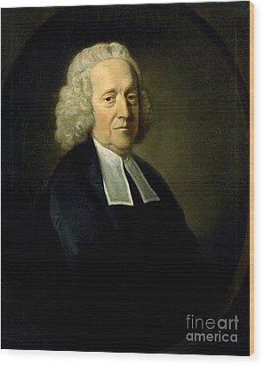 Stephen Hales, English Botanist Wood Print by Science Source