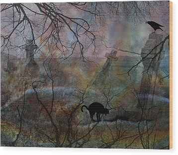 Still In There Wood Print by Shirley Sirois