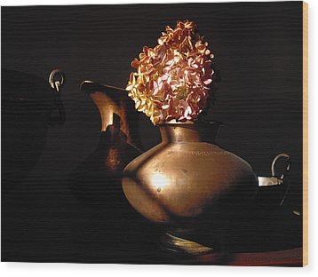 Wood Print featuring the photograph Still Life 1 by Vilas Malankar