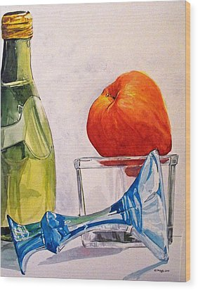 Still Life 2 Wood Print by D K Betts