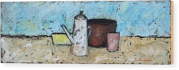 Still Life Wood Print by Bonnie Goedecke