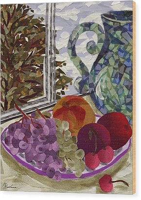 Still Life Wood Print by Marina Gershman