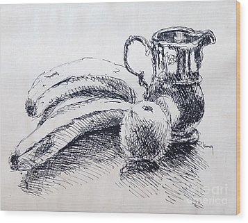 Still Life Wood Print by Rod Ismay