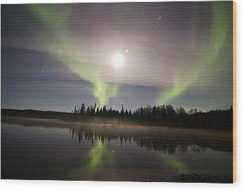 Still Of Night Wood Print