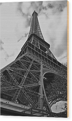 Wood Print featuring the photograph Still Standing by Eric Tressler