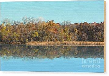Still Waters 1 Wood Print by Cedric Hampton