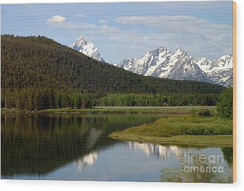 Wood Print featuring the photograph Still Waters by Living Color Photography Lorraine Lynch