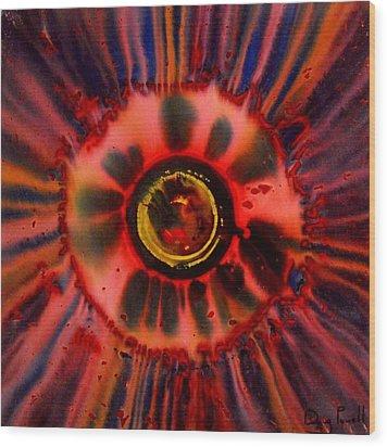 Stoked Embryo Wood Print
