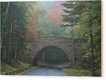Stone Bridge Wood Print