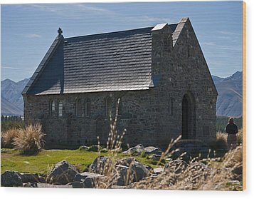 Stone Church Wood Print by Graeme Knox