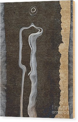 Stone Men 01 - Her Wood Print by Variance Collections