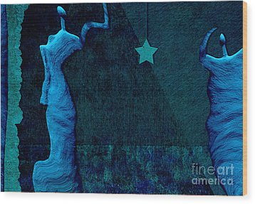 Stone Men 30-33 C02c - Les Femmes Wood Print by Variance Collections