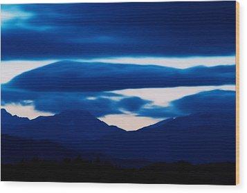 Storm Wood Print by Kevin Bone