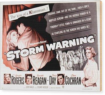 Storm Warning, Ginger Rogers, Steve Wood Print by Everett