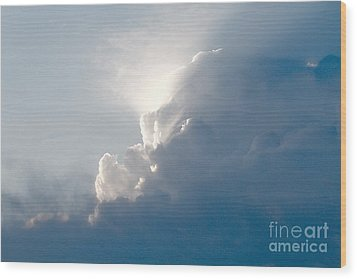 Storms Over Wood Print by Robert Pearson