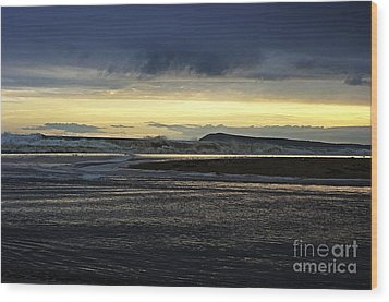 Wood Print featuring the photograph Stormy Morning 2 by Blair Stuart