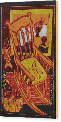 Storytime Wood Print by Dee Timm