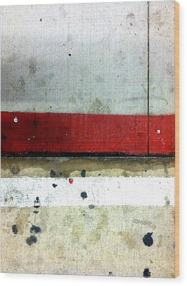 Streets Of New York Abstract Eight Wood Print by Marlene Burns