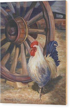 Struts Wood Print by Kathleen  Hill