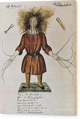 Struwwelpeter Wood Print by Photo Researchers