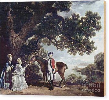 Stubbs Pocklington 1769 Wood Print by Granger
