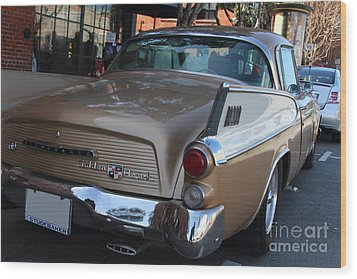 Studebaker Golden Hawk . 7d14182 Wood Print by Wingsdomain Art and Photography