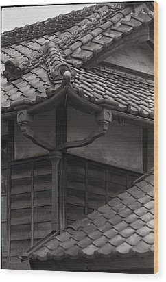 Wood Print featuring the photograph Style And Grace In Tile by Craig Wood