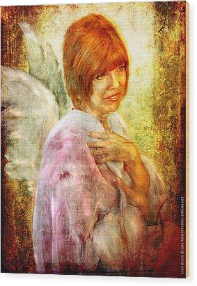 Sullivan. Angel Wood Print