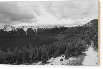 Wood Print featuring the photograph Sulphur Mountain by JM Photography