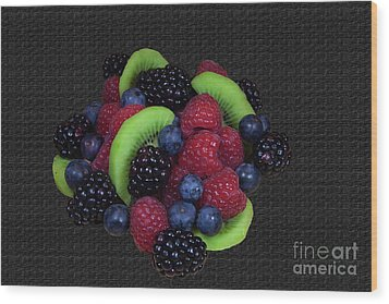 Summer Fruit Medley Wood Print by Michael Waters
