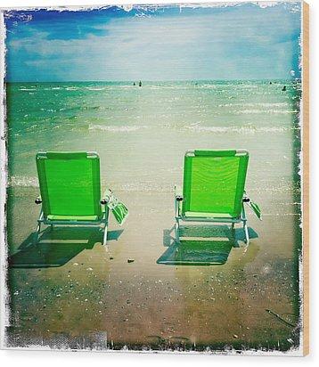 Summer Heaven Wood Print