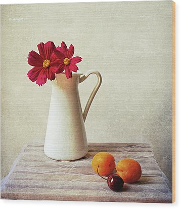 Summer Still Life Wood Print by by MargoLuc
