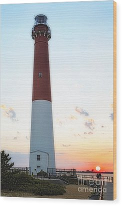 Summer Sunset At Old Barnie  Wood Print by George Oze
